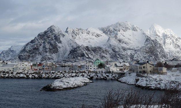 Henningsvær en invierno