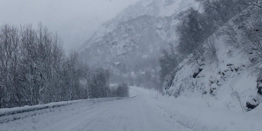 Carretera junto a Rafsundet
