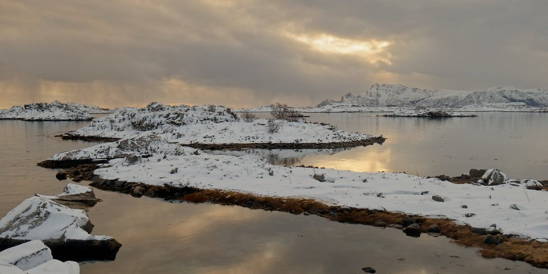 Islotes en Skokkelvika