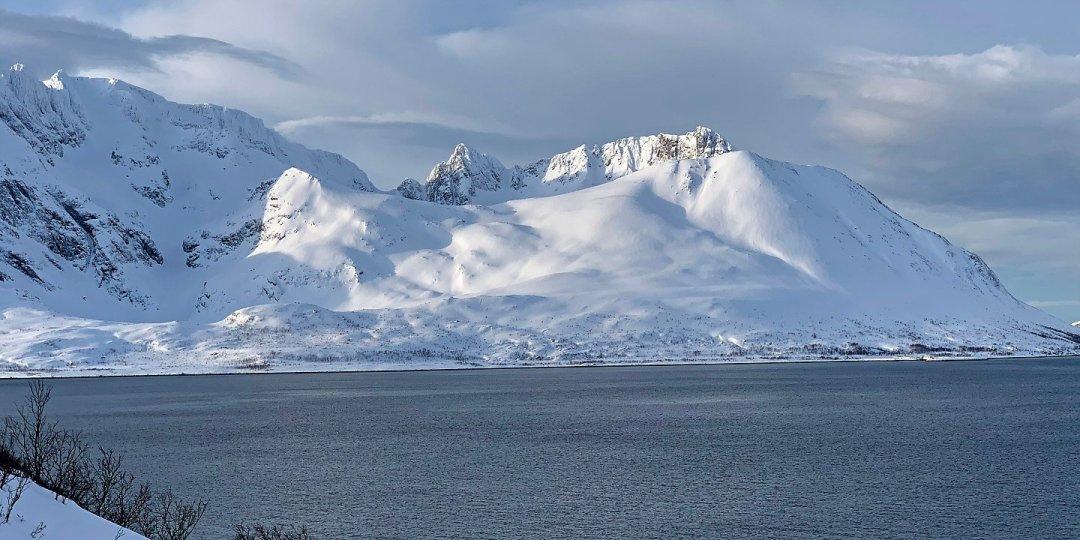 Kågen desde Skjervøy