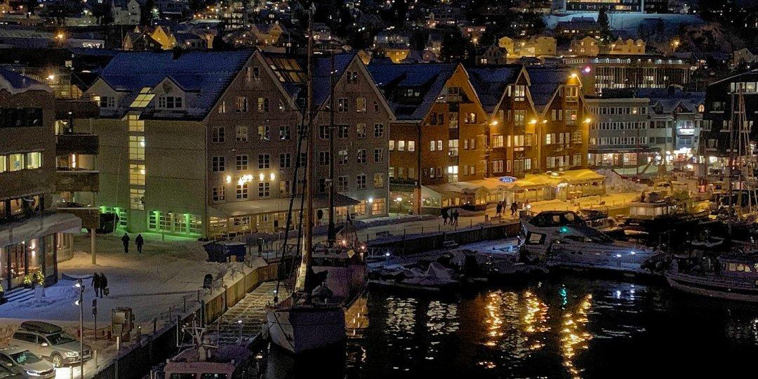Puerto antiguo de Tromsø