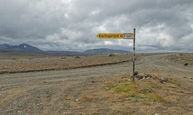 Un día en Kerlingafjallavegur