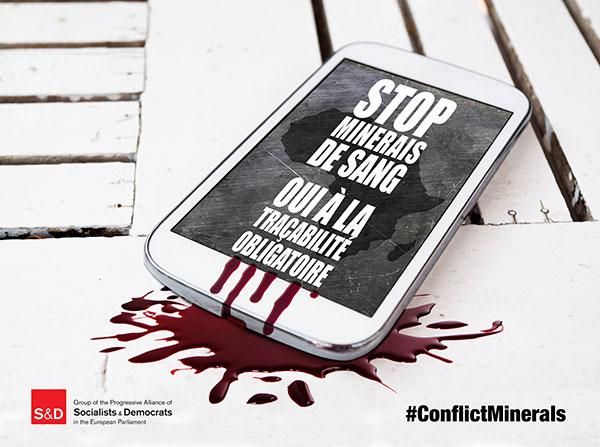 Arrêtons d'être les complices des minerais du sang !