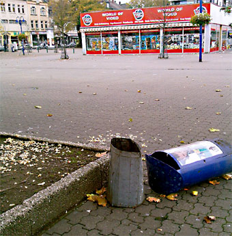 Müllberge in Hochheide