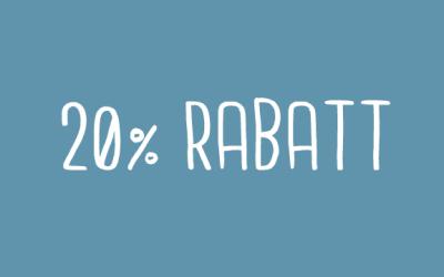 20% Rabatt auf Winterware!