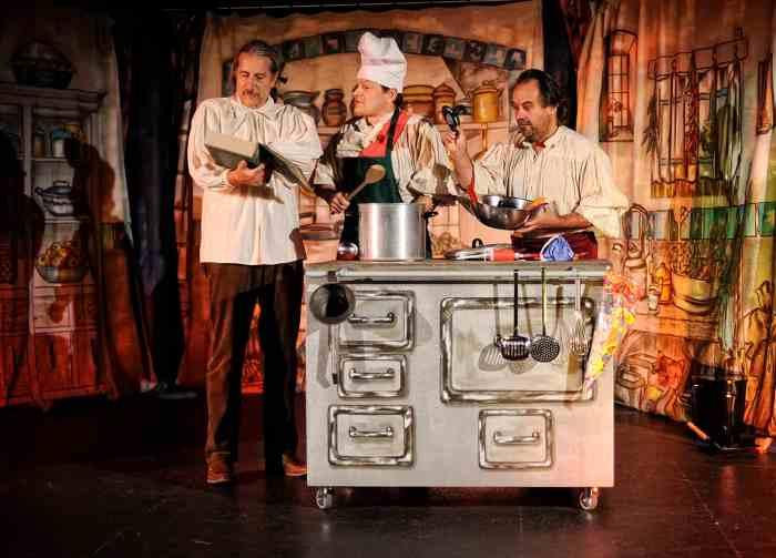 "Szene aus ""Aschenputtel oder Rossini kocht eine Oper"", 2015. Foto: Foto: Natalie Meier/Musikforum Niedersachsen e.V.Musikforum Niedersachsen"