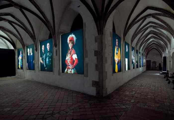 Blick in den Kreuzgang der Brüdernkirche. Foto: Klaus G. Kohn