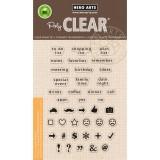 To Do List - Hero Arts Clear Stamps Set - zum Schließen ins Bild klicken