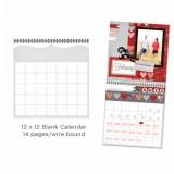 Blank Calendar - 14 Seiten - zum Schließen ins Bild klicken