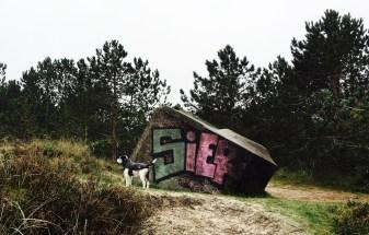 Alte Bunker gibt es viele auf der Insel