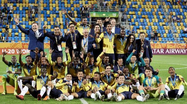 Bronce para una selección de oro. Ecuador en el Mundial Sub20 Polonia 2019.