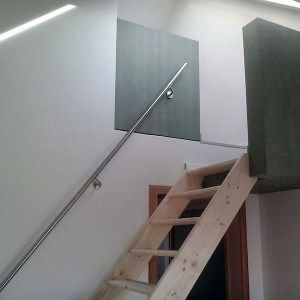 meubelen op maat trap met leuning