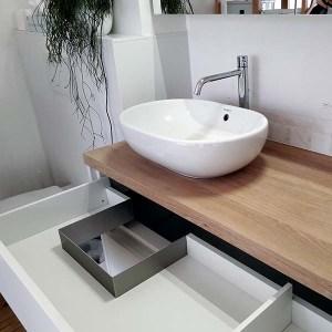DERASUN badkamermeubel op maat met lade