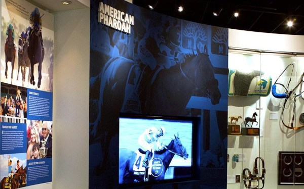 Permanent American Pharoah exhibit now open at the ...
