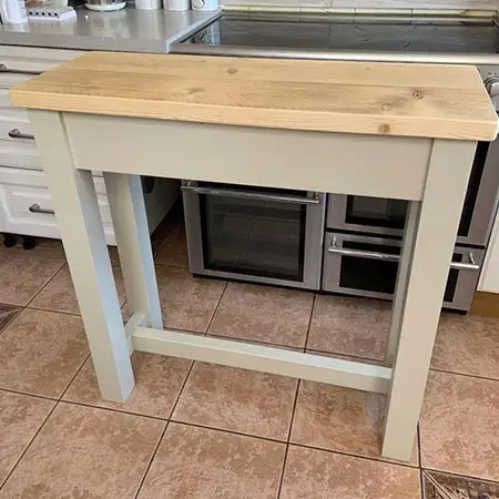 Reclaimed Wood Butchers Block