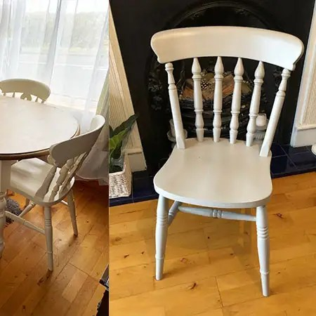 Refurbished Dining Room Chairs