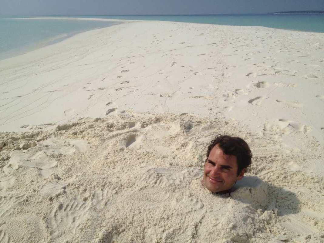 出典: Facebook/Federer