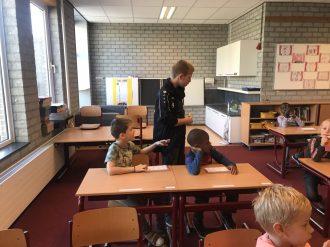 We oefenen samen met de kinderen de woorden van vloeiend en vlot