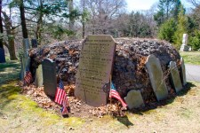 Warren's Tomb at Forest Hills Cemetery, Boston