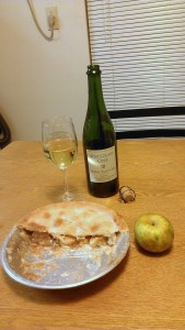 Warren (Roxbury) Russet Hard Cider and Warren Rusett Apple Pie