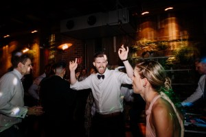 Guests dance at the end of the night at Sydney's The Grounds