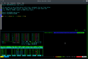 KTerm with tmux and ssh