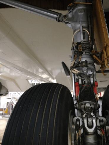 Concorde underwing skin