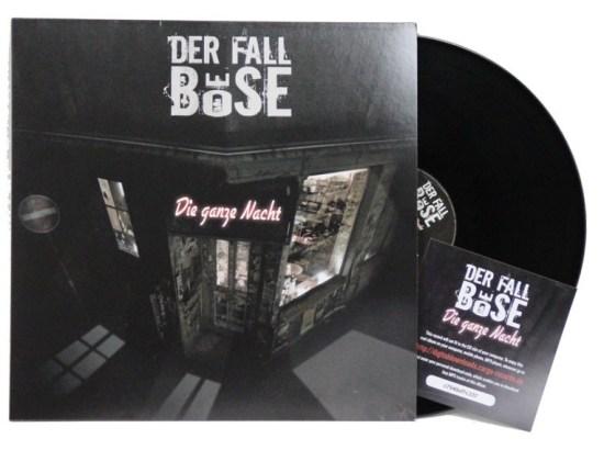 Der Fall Böse LP Vinyl Die ganze Nacht