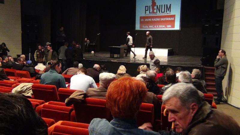 Plenum in Tuzla