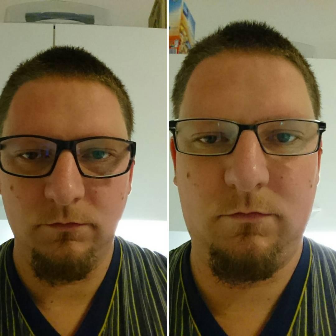 Meine neue und meine alte Brille #2016