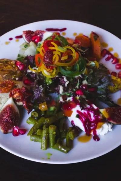 Catering Gericht bei der Grieche Catering