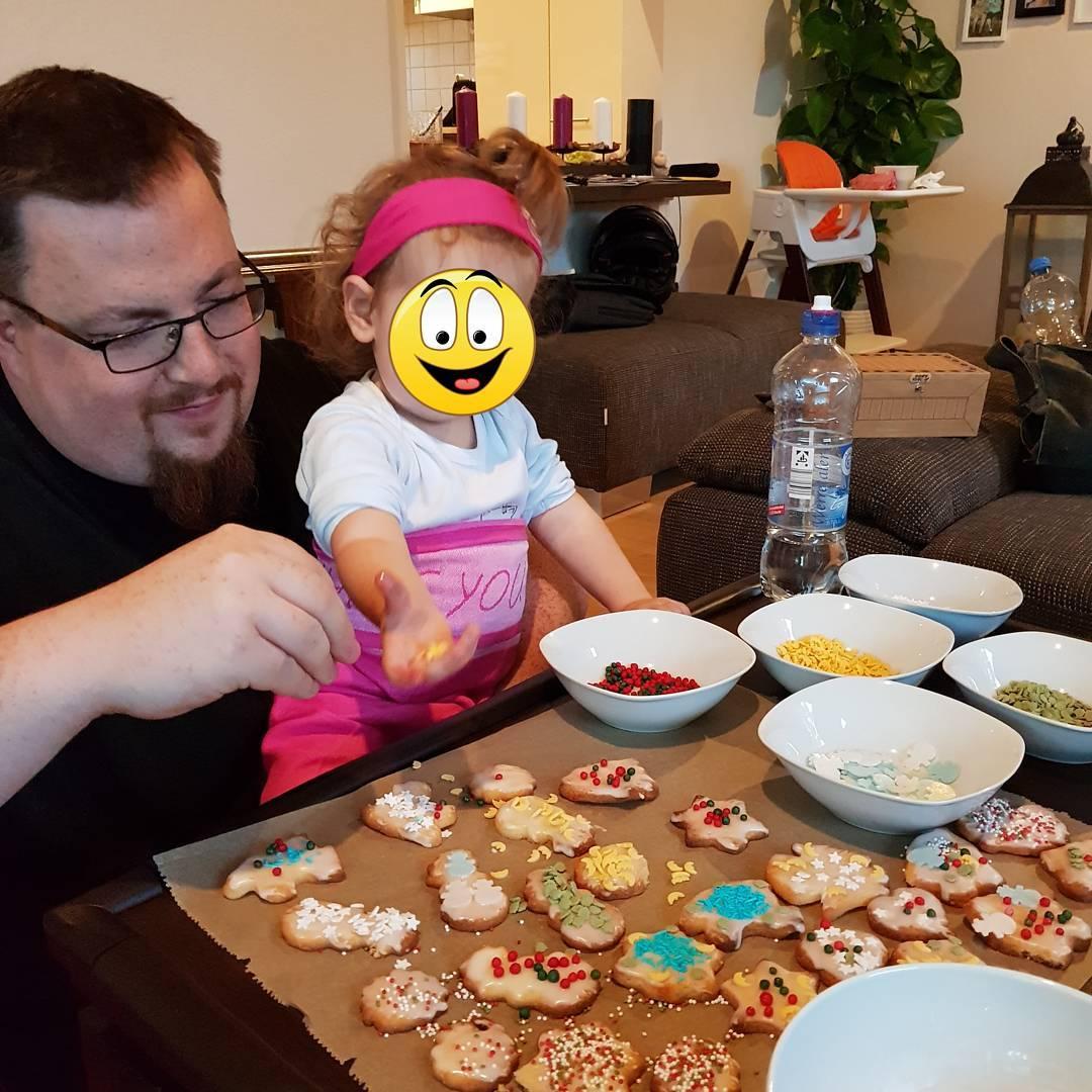 In der kleinen Weihnachtsbäckerei