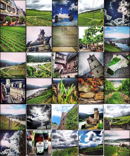 Eine Runde Instagramm: Rheingau