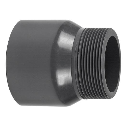 PVC HD DRAADEIND HANDVORM donkergrijs
