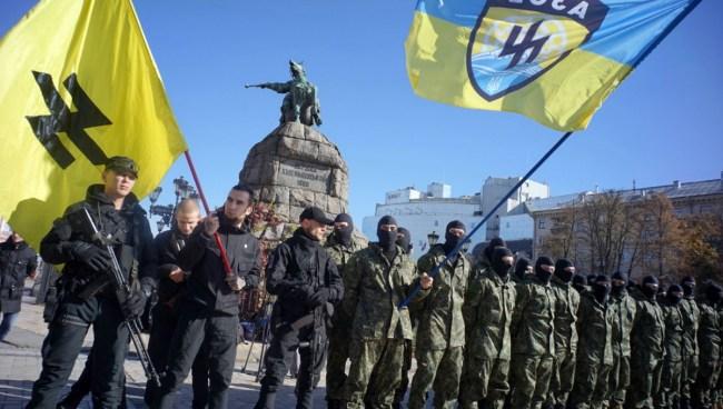 Støtter Norge ny-nazistene i Ukraina samtidig som de prøver å gjenopplive Barentssamarbeidet?