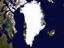 Smelter Grønnlandsisen i rekordfart, eller...