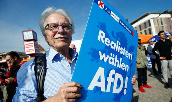 I Tyskland snues nå det politiske landskapet på hodet, ifølge meningsmålinger.