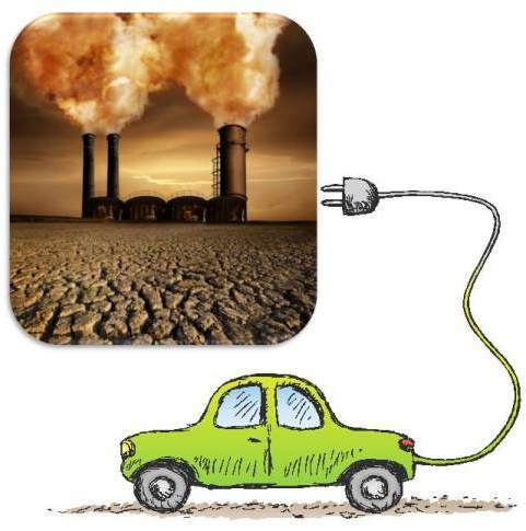 Bilene går på rein norsk el-kraft, men batterier osv er hentet av skiten gruvedrift.