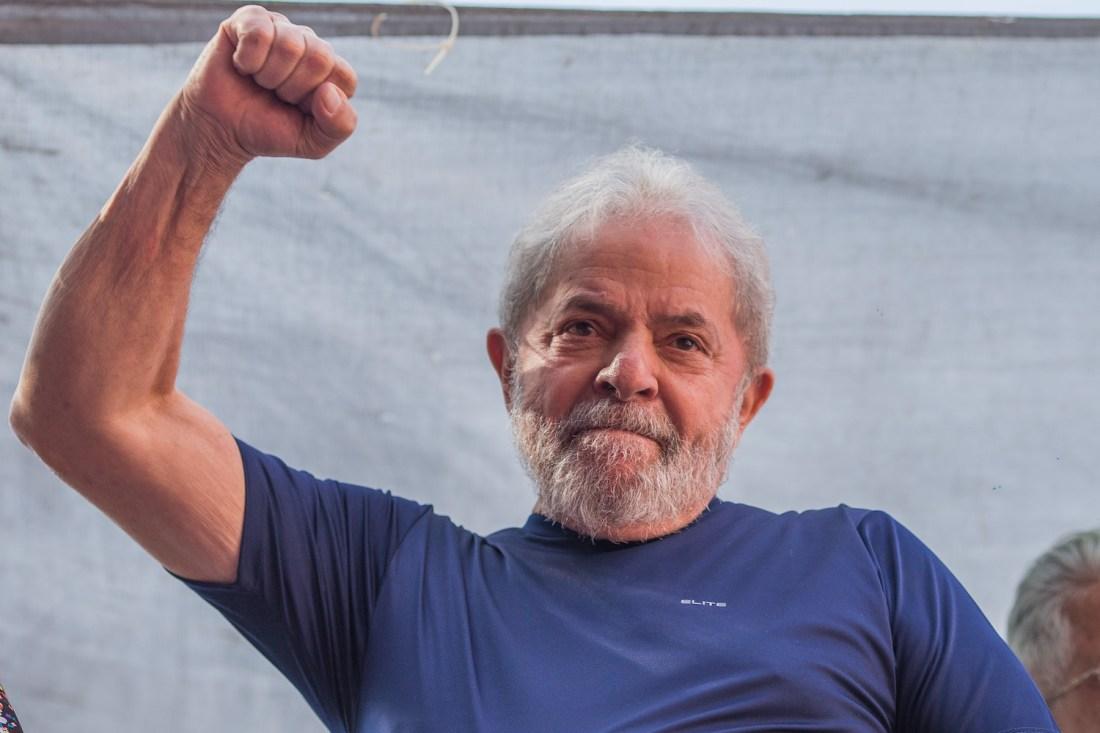Intervju med Brasils fattige sin tidligere president som nå er fengslet, Lula.