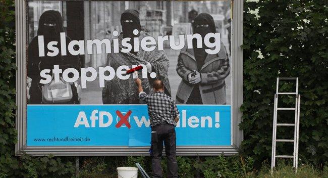 En viktig årsak til AfDs fremgang i Tyskland var deres motstand mot innvandring7islamisering.