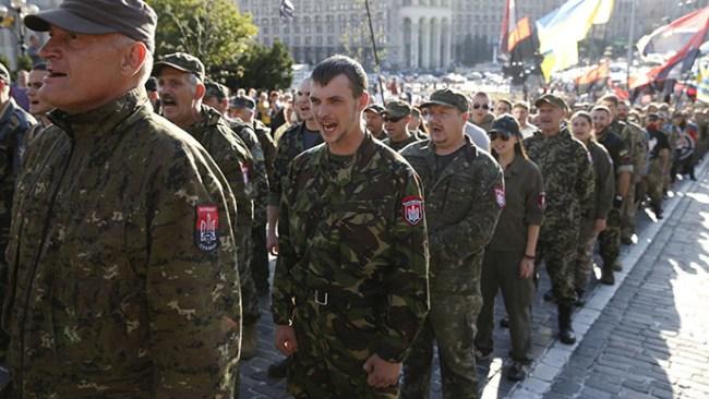 Ultranasjonalister blokkerer løsning av konflikten i Ukraina.