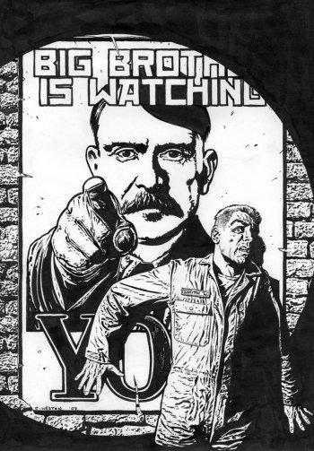 George Orwell skrev romanen 1984 om en fremtid hvor noen forvalter sannheten. Er vi der nå?