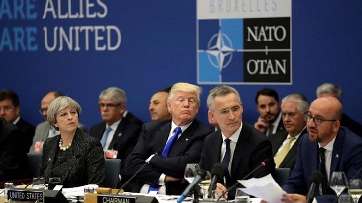 Når ledende Nato-politikere beskylder hverandre og alliansen for å være hjernedød går det mot slutten for Nato.