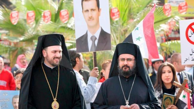 Kristne i Nord-Syria forfølges under kurdisk og tyrkisk styre. Den syriske staten garanterer religionsfrihet.