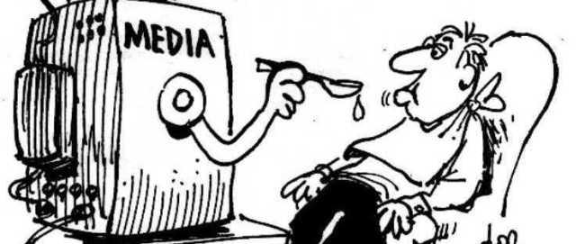 Medienes viktigste oppgave er å få deg til å tenke og oppfatte verden på en bestemt måte: Maktens måte!