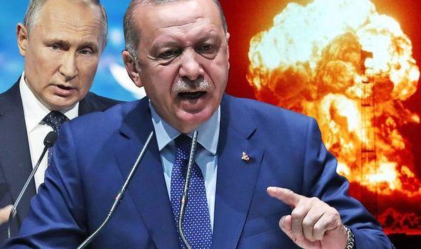 Tyrkias okkupasjon av Syria og støtte til Al-Quaida med Nato i ryggen, kan utløse atomkrig.