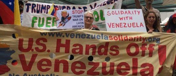 """USA sin venezuelanske """"president"""" holder seg nå skjult for å unngå rettsforfølgelse for bl.a kuppforsøk mot landets regjering."""