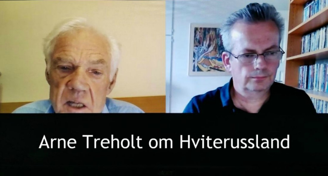 Nettstedet Spartakus v/Terje Alnes intervjuer Arne Treholdt.