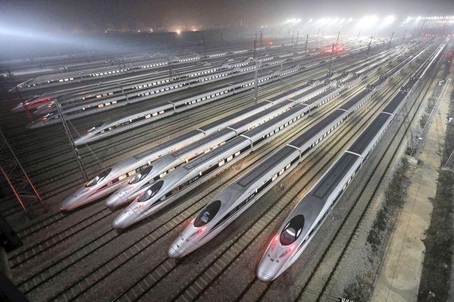 Kina produserer nå sitt første lyntog for varetransport