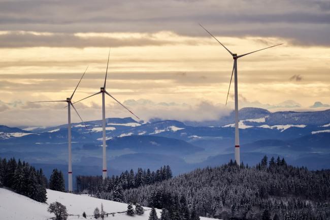 Norge var på topp i Europa når det gjelder landbasert vindkraftutbygging i fjor.